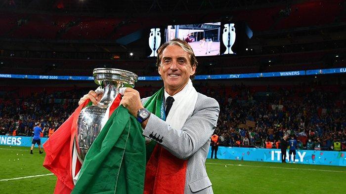 Italia Juara Piala Eropa 2020, Roberto Mancini: Pemain Luar Biasa, Saya Tahu Harus Berkata Apa