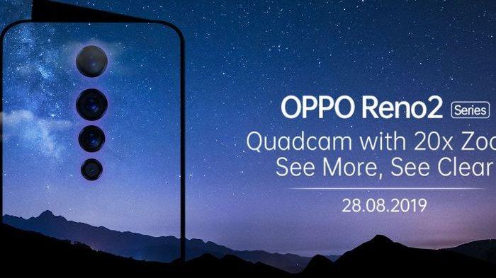 HP ANDROID 2019 - Bocoran Spesifikasi dan Desain Oppo Reno 2Z, Punya 4 Kamera