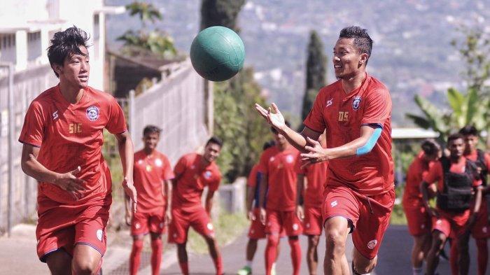 BERITA AREMA FC - Latihan Mandiri di Rumah, Pemain Arema FC Wajib Setor Video Latihan