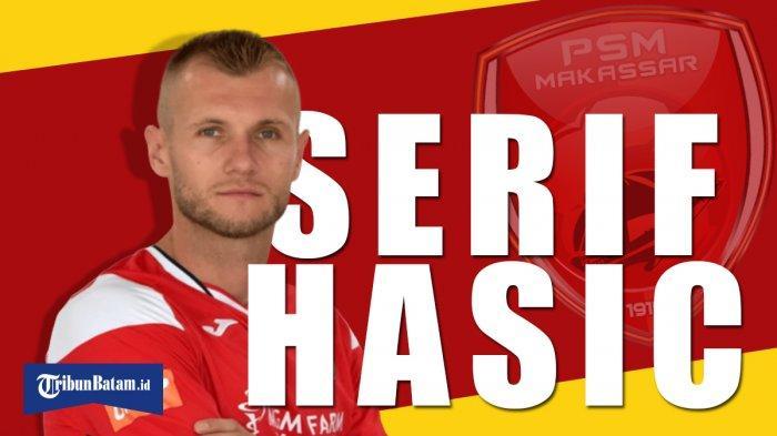 Transfer Liga 1 2020 - Profil Serif Hasic, Pemain dari Liga Bosnia yang Disebut Merapat ke PSM