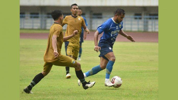 Persib Bandung Pesta Gol di Laga Ujicoba Tanpa Pemain Asing, Erwin Hattrick, Zulham Zamrun 2 Gol