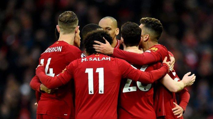 Hasil Liga Inggris - Liverpool Bungkam Bournemouth di Anfield, Mo Salah dan Sadio Mane Cetak Gol