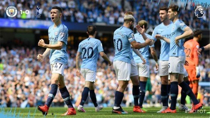 Pekan 35 Liga Inggris, City Geser Liverpool Setelah Menang Tipis Atas Tottenham