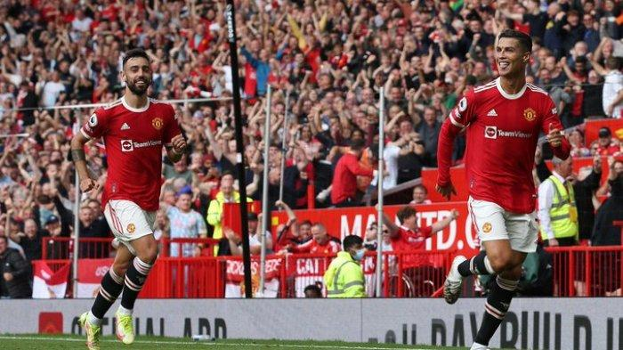 Hasil Liga Inggris 2021 - Gol Ronaldo di Injury Time, Man United Ungguli Newcastle di Babak Pertama