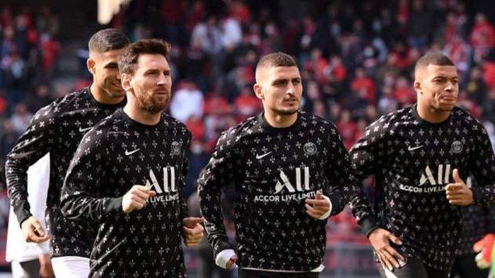 Jadwal Liga Prancis Pekan 10: PSG vs Angers, Sergio Ramos Debut, Lionel Messi Tidak Main?