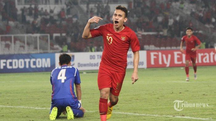 Gol Egy Maulana Vikri di Menit Akhir Bawa Kemenangan Timnas U-23 Indonesia atas Iran