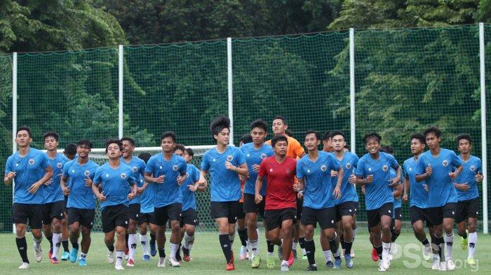 Pemain Timnas U19 Indonesia menjalani pemusatan latihan di Jakarta