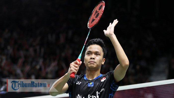 Hasil dan Live Streaming Australian Open 2019. Anthony Ginting Susul Praveen/Melati ke Final
