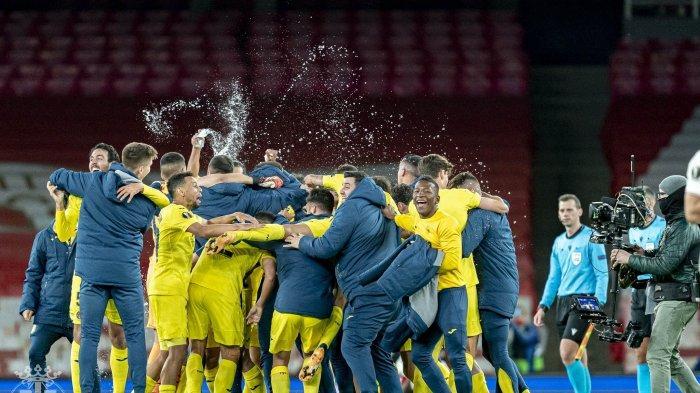 Hasil Arsenal vs Villarreal, Imbang Lawan Arsenal di Emirates, Villarreal Lolos ke Final Liga Europa