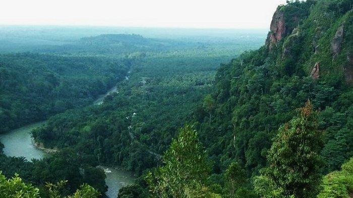 Kamu Sedang Galau? Mungkin Bisa Cuci Mata di Objek Wisata 'Bukit Galau' di Tepi Sungai Asahan