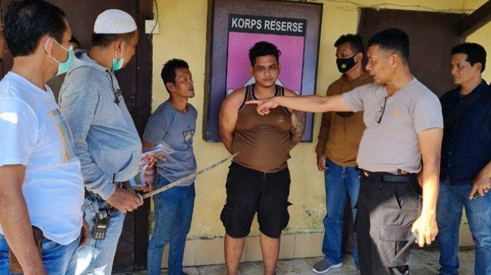 Pelaku pembacokan di Belawan terhadap rekan sendiri, ditahan polisi