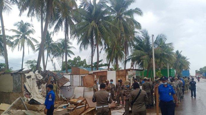 BREAKING NEWS, Tim Terpadu Bongkar 29 Rumah Dekat Pelabuhan Batu Ampar Batam