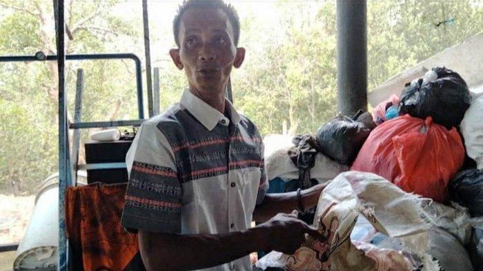 Warga Tanjungpinang Buat Mesin Paving Block Berbahan Sampah, Modal Lihat Internet