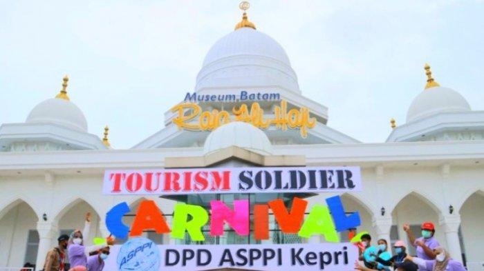 ASPPI Kepri Gelar Kegiatan Tourism Soldier Carnival, Donna : Optimistis Kebangkitan Pariwisata Kepri