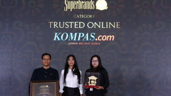Awards Superbrands 2019, Kompas.com  Kembali Jadi Pemenang Kategori Media Online Tepercaya