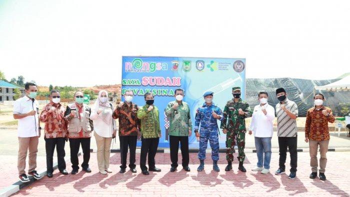 Gubernur Kepri Ansar Ahmad Apresiasi Vaksinasi Covid-19 di Lanud Hang Nadim Batam