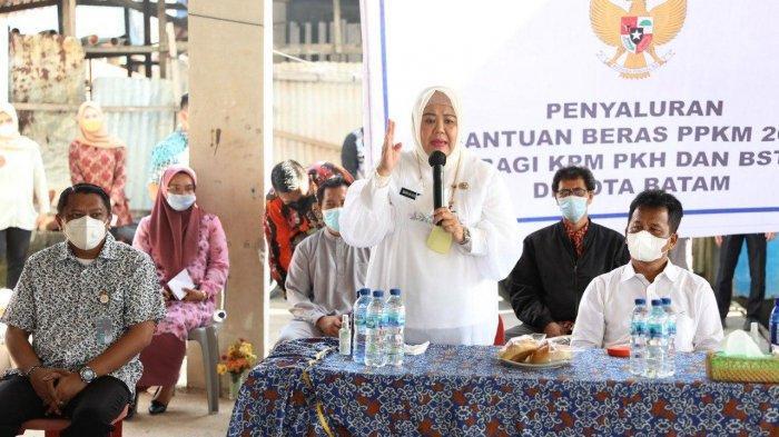 Wakil Gubernur Kepri Marlin Agustina Dorong Percepatan Distribusi Bantuan Beras