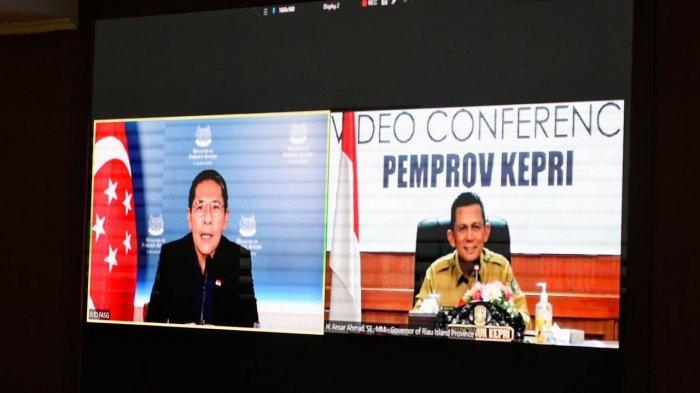 Gubernur Kepri Ansar Ahmad Ucap Terima Kasih, Singapura Kirim Bantuan Alat Kesehatan