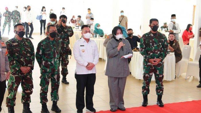 TNI Manunggal Membangun Desa (TMMD) ke-111 Kodim 0315/Bintan tahun 2021 resmi ditutup.