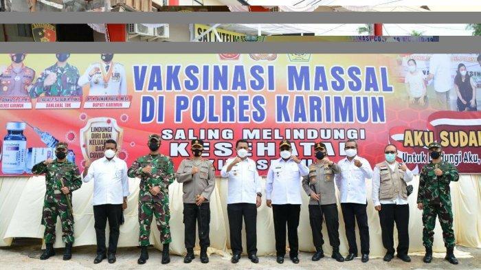 Gubernur Kepri Ansar Ahmad Dorong Pencapaian Target Vaksinasi Covid-19