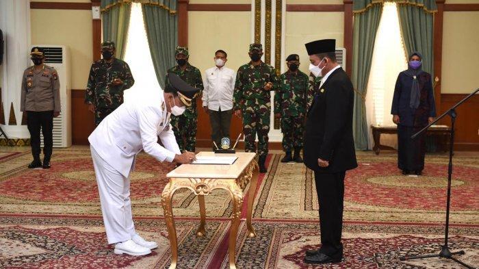 Gubernur Ansar Lantik Wakil Wali Kota Tanjungpinang