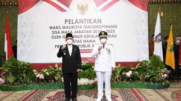 Gubernur Kepri Ansar Ahmad Lantik Wakil Walikota Tanjungpinang Endang Abdullah
