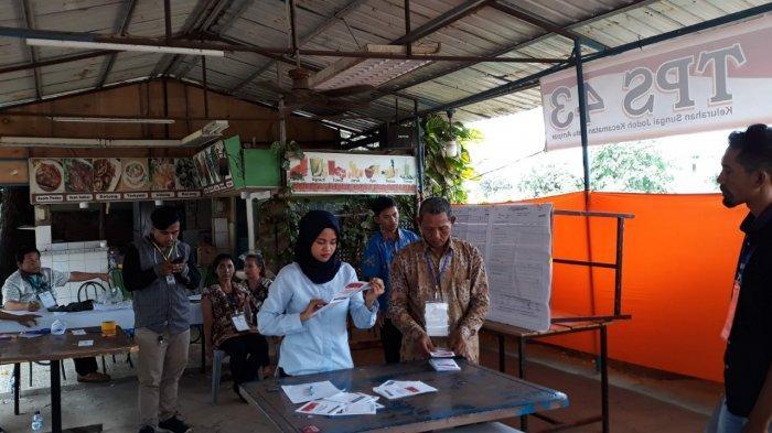 Ditemukan Pelanggaran, TPS 43 Kelurahan Sei Jodoh Batam Gelar Pemungutan Suara Ulang Pilpres 2019