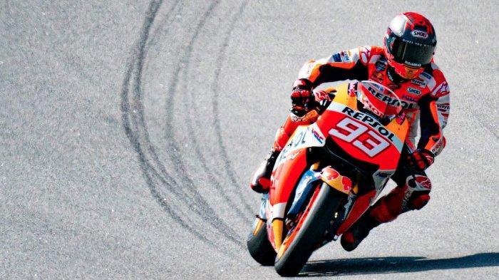 Jadwal MotoGP Qatar 2021, Siap Comeback di Losail, Marc Marquez Jajal Motor Honda di Barcelona