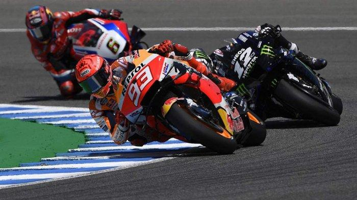 Perasaan Marc Marquez Usai Finish 9 MotoGP Spanyol 2021, Sakit Punggung & Leher Bikin Saya Menderita