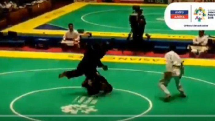 Viral! Aksi Brutal Pesilat Malaysia Setelah Dikalahkan Atlet Pencak Silat Singapura di Asian Games