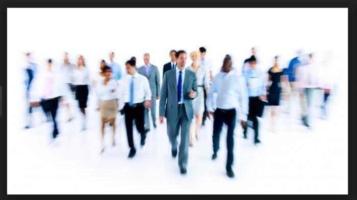 Ilustrasi pelamar kerja (job seeker)