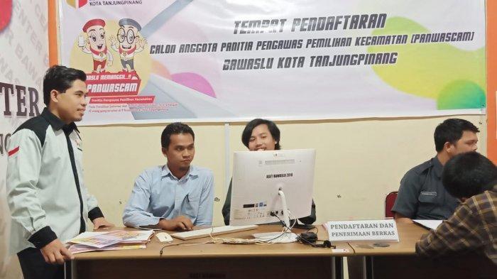Animo Pendaftar Tinggi, Bawaslu Tanjungpinang Terima 83 Pendaftar Panwascam, Kawal Pilgub Kepri 2020
