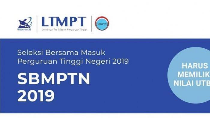 Link Daftar Masuk PTN atau SBMPTN 2019 via Online Dibuka Hari Ini Pukul 13.00 WIB hingga 24 Juni