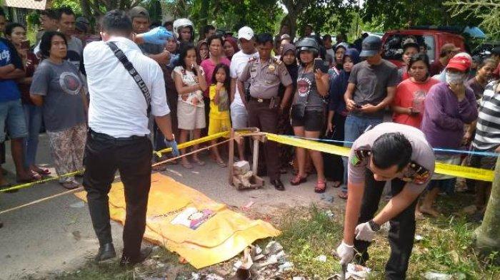 BREAKINGNEWS: Mayat Bayi Ditemukan di Tempat Sampah yang Sedang Dibakar di Batuaji