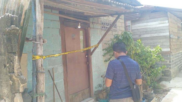 Lokasi ditemukannya jasad Fredi di Batu Merah, Kecamatan Batu Ampar, Kota Batam, Provinsi Kepri, Minggu (2/5/2021).
