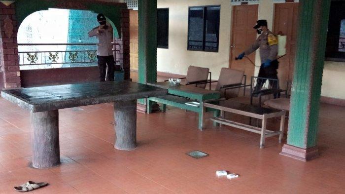 PENEMUAN MAYAT DI TANJUNGPINANG - Lobby lantai III Hotel Surya Tanjungpinang lokasi penemuan mayat laki-laki paruh baya, Senin (24/5/2021).