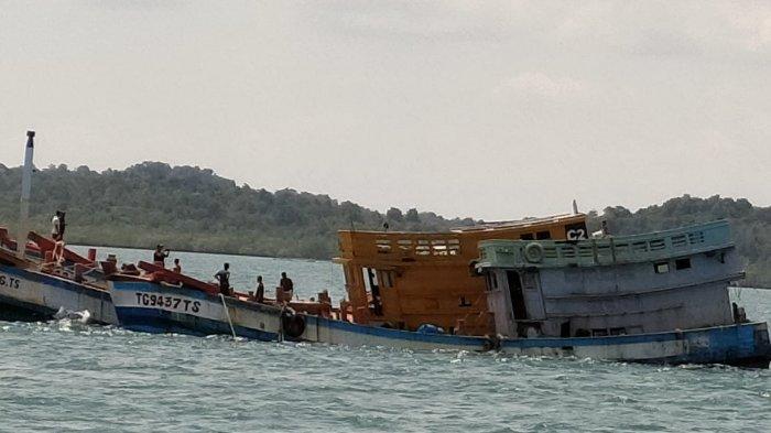 Dalam Dua Hari, 10 Kapal Ikan Asing Dimusnahkan di Batam, Tak ada Ampun Bagi Illegal Fishing
