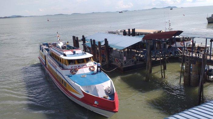 Pelabuhan Tanjung Buton Ditutup, Speedboat Karunia Jaya Layani Penumpang dari Karimun
