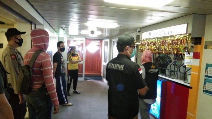 Tim Gabungan Ringkus 2 Pelaku saat Penggeledahan KM Kelud di Batam