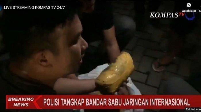 Gembong Narkoba Internasional Digerebek di Petamburan, Polisi Sita 201 Kilogram Sabu