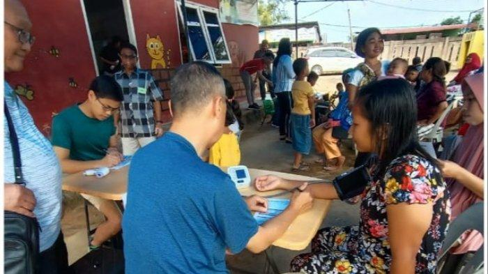 Delapan Dokter Dikerahkan Dalam Pengobatan Gratis Polda Kepri, Periksa 709 Warga Kurang Mampu
