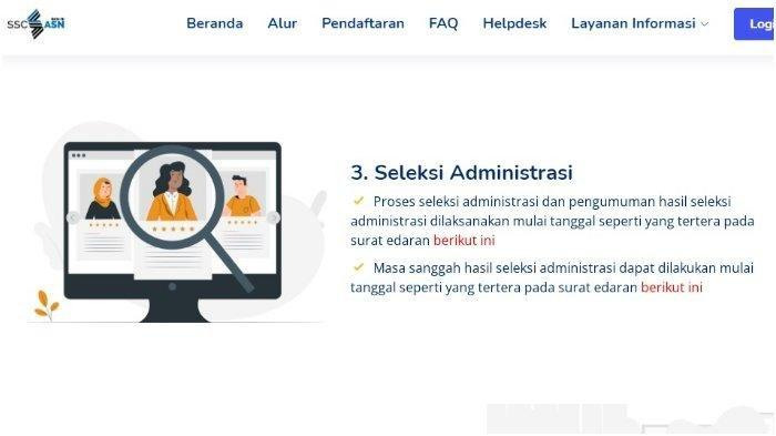 Pengumuman Hasil Seleksi Administrasi CPNS 2021, Cek Nama Anda di sscasn.bkn.go.id