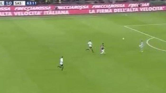 Hasil Liga Italia - Usai Menang 1-0 atas Sassuolo, AC Milan Geser Inter Milan