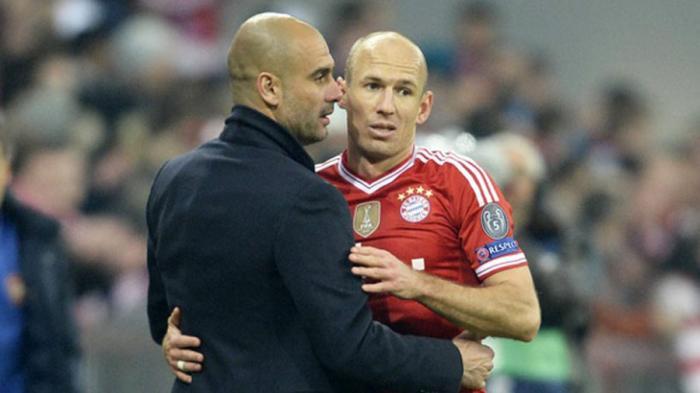 Pujian Arjen Robben pada Pep Guardiola: Dia Adalah Ahlinya Sepakbola Menyerang