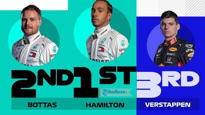 Hasil F1 GP Spanyol, Kalahkan Bottas, Lewis Hamilton Juara di Catalunya, Max Verstappen Podium 3