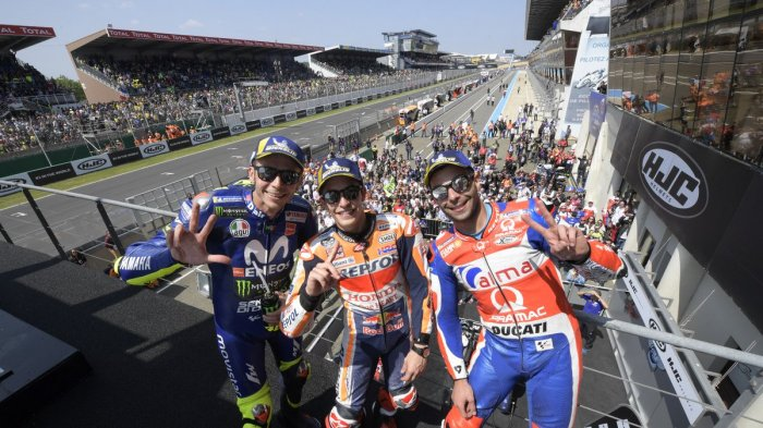 Jadwal MotoGP Perancis - Bebalap Italia Jarang Juara di Le Mans, Tapi Rapor Valentino Rossi Bagus