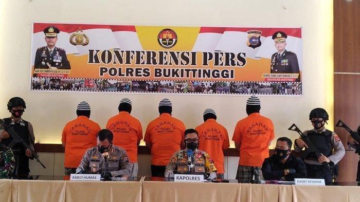 Polisi Ungkap 5 Peran Tersangka Pengeroyokan Anggota TNI oleh Pengendara Moge di Bukittinggi
