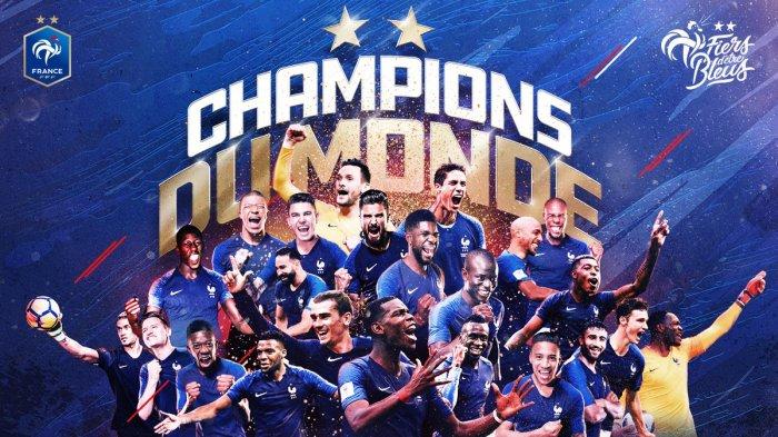 Prancis Juara Piala Dunia 2018 - Ini Jumlah Hadiah yang Akan Dibawa Pulang Paul Pogba Dkk