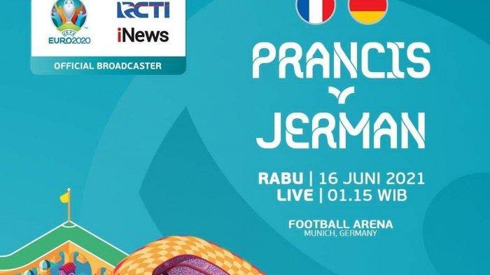 Prancis vs Jerman Live RCTI 02.00 WIB, Didier Deschamps: Kami Harus Waspadai Striker Jerman