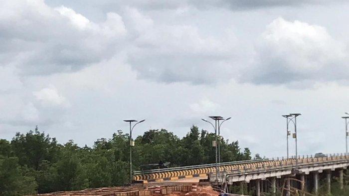 Perbaikan Oprit Jembatan Kangboi di Bintan, Satker PJN I Wilayah Kepri Klaim Sudah 55 Persen